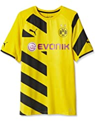 Image of 2014-2015 Borussia Dortmund Authentic Home Puma Shirt, Giallo (Cyber Yellow-Black), XL