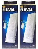 Fluval A222 Schiuma Accessori Filtraggio per 204/205/206 304/305/306 (2 Pack)