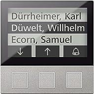 Tcs porta Control Display 3tasti si ami11603–0010256We funzione modulo per citofono 4035138022033