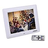Andoer Cornice Foto Digitale 7 Pollici HD TFT-LCD con Sveglia Lettore MP3 MP4 di Film Digitale Movie Player con Desktop remoto