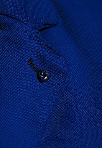 BLONDE NO. 8 Damen Piquet-Blazer CANNES PIQUET Vintage-Waschung Electric Blue