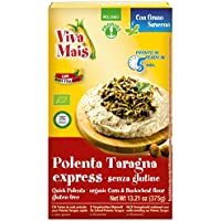 Probios Viva Harina de Maíz para Polenta Taragna - Paquete de 6 x 375 gr -