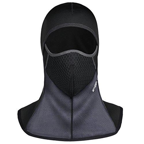Passamontagna Balaclava berretto Antivento Face Mask Multifunzione Moto Abbigliamento berretto invernale sciarpa maschera da sci bicicletta copricapo, per Sci Caccia Snowboard Ciclismo Trekking Alpinismo e Altri Sport Esterni Inverno