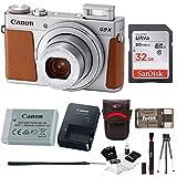 Canon PowerShot G9X Mark II 20.1MP Digital Camera