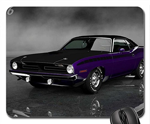 plymouth-cuda-aar-340-six-corps-70-mouse-pad-mousepad-259-x-211-x-03-cm