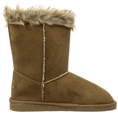 Canadians - Boots, Stivali e stivoletti alti imbottiti caldi Donna Marrone (Braun (370 TOBACCO))