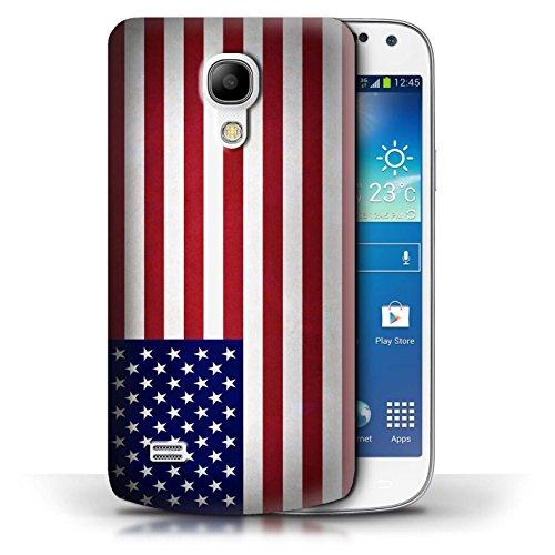 Etui / Coque pour Samsung Galaxy S4 Mini / Columbia/Colombie conception / Collection de Drapeau Amérique/americain