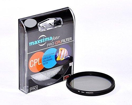 MaxsimafotoZirkularpolarisator 62mm für Panasonic DMC-FZ1000Lumix Bridge Kamera, FZ1000EB, FZ1000