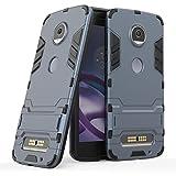 Cover per Motorola Moto Z2 Play (5,5 Pollici) 2 in 1 Hybrid Dual Layer Completamente Shock...