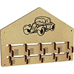 Azeeda Vintage Car Wall Mounted Coat Hooks / Rack (WH00029130)
