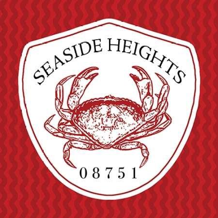 Feelingathome.it, STAMPA SU TELA 100% cotone INTELAIATA Seaside Heights II cm 61x61 (dimensioni personalizzabili a richiesta)
