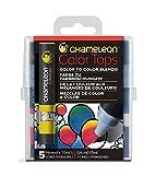 Chameleon Art Products 5 Color Tops; Farbe zu farbmischungen; Grundtöne