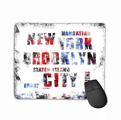 Mouse Pad New York City Art Street Graphic Style NYC