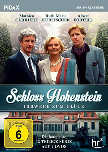 Schloss Hohenstein - Irrwege zum Glück / Die komplette 13-teilige Kultserie (Pidax Serien-Klassiker) [4 DVDs]