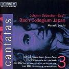 Bach: Cantatas, Vol 3 (BWV 12, 54, 162, 182) /Bach Collegium Japan � Suzuki