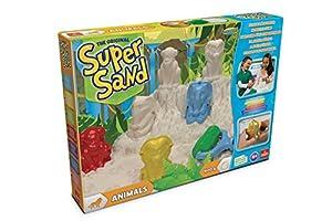 Super Sand Sand-83213 Animales Set de Juego (Goliath 83213), Multicolor