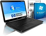 HP 250 G3 (15,6 Zoll) Notebook (Intel N2840 Dual Core 2x2.58 GHz, 4GB RAM, 640GB S-ATA HDD, Intel HD Graphic, Bluetooth, HDMI, Webcam, USB 3.0, WLAN, DVD-Brenner, Windows 7 Professional 64 Bit, G-DATA Security 2015) #4828