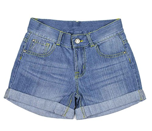 Bienzoe Girl's Denim Jean Shorts