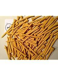 100JL Golf gelb Holz Tees 69/70mm lang (23/10,2cm) * NEU * Weihnachts Geschenk Väter