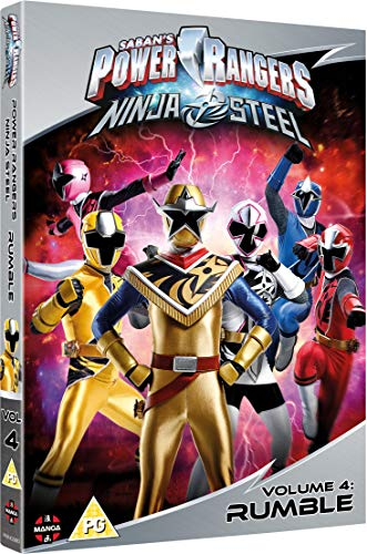 Power Rangers Ninja Steel: Rumble (Volume 4) Episodes 13-16 & Halloween [DVD]