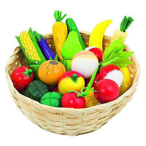 Goki 51660 - Kaufläden und Zubehör - Obst und Gemüse