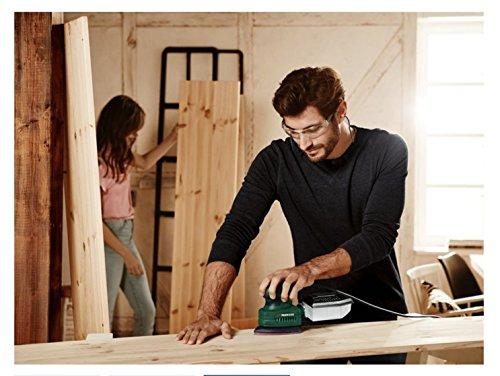 PARKSIDE® Handschleifer PHS 160 D4 (160 W, Schleiffläche 140 x 140 x 100 mm, Staubfangbox, inkl. 3x Schleifpapier 80 / 120 / 180)