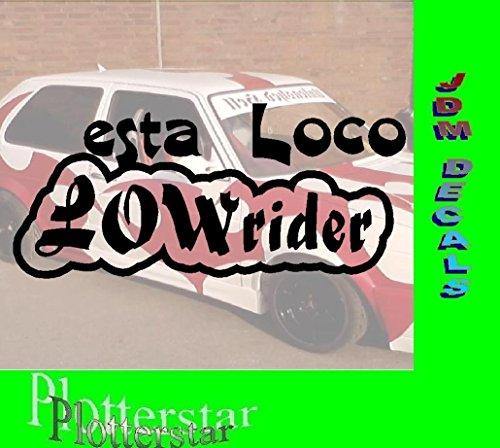 esta Loco Lowrider Sticker Aufkleber