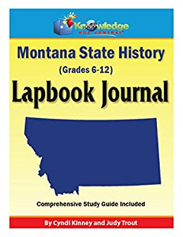 Montana State History Lapbook Journal: Plus FREE Printable Ebook ...