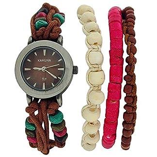 Señoras/niñas Kahuna analógica Tanga correa reloj