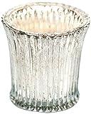 Insideretail TLV025MMSET3 Weinlese geriffelten Glas Teelichthalter, 6,5 x 6,5 cm, 3-er Set