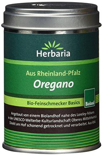 Herbaria Oregano gerebelt, 1er Pack (1 x 20 g Dose) – Bio