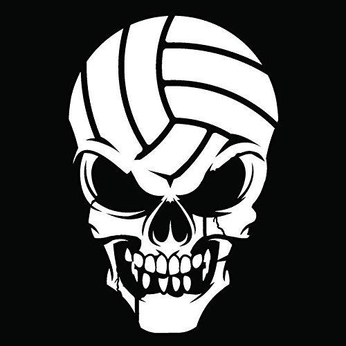 SUPERSTICKI Handball Totenkopf 15 cm Aufkleber Autoaufkleber,Wandtattoo Profi-Qualität für Lack,Scheibe,etc.Waschanlagenfest