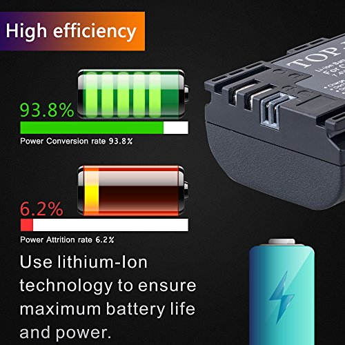 Batterien Unterhaltungselektronik 2040 Mah Lpe6 Lp-e6 Lp-e6n Lp E6 E6n Batterie Made Mit Panasonic Zelle Lpe6n Batterie Für Canon Eos 5d Mark Ii Iii 7d 60d 6d