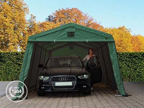 zeltgarage 3 3 4 8 m weidezelt premium carport mit 500 g. Black Bedroom Furniture Sets. Home Design Ideas