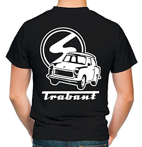 Trabant T-Shirt | DDR | Osten | Männer | Herren | Simson | Zwickau | Oldtimer | Trabi | Schwalbe | IFA | Wartburg | Fun | M2 FB (S)