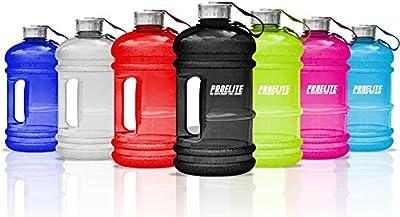 PROELITE Half Gallon Bottle BCAA Pre Workout Water Jug - 2.2 Litre Capacity by PROELITE