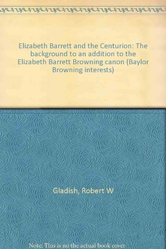 Elizabeth Barrett and the