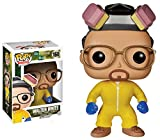 Funko Pop! - Pupazzetto di Walter White, dalla Serie Breaking Bad, Versione in Tuta da Laboratorio, con Testa oscillante