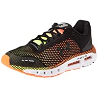Under Armour UA HOVR Infinite, Men's Road Running Shoes, Black (Black/High-Vis Yellow/Metallic Gun M 001), 8.5 UK (43 EU)