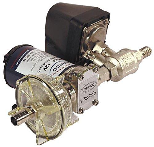 Marco UP3/A Automatische Druckwasserpumpe mit Druckwächter 15 l/min (12 Volt)
