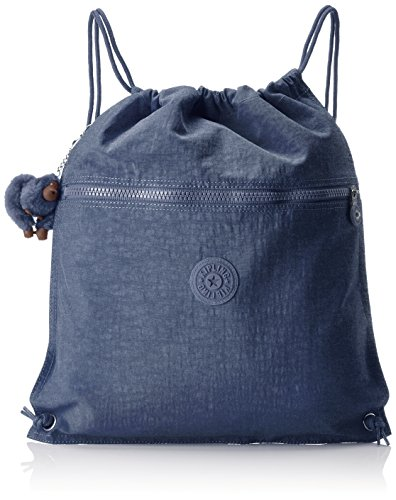 Kipling SUPERTABOO Bolsa de deporte infantil, 45 cm, 15 liters, Azul (True Jeans)