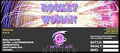 Twisted Aroma Rocket Woman von Twisted Vaping