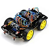 TUROBOT Kit de montage complet Arduino Voiture Robot 4WD intelligente avec...