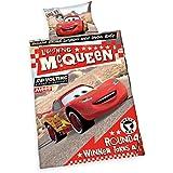 Herding 2429212063 Disney`s Cars Bettwäsche, Baumwolle, rot, 100 x 135 x cm