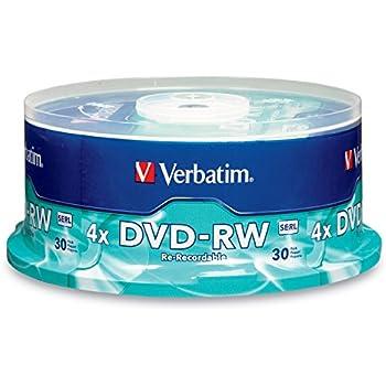 Verbatim DVD-RW 4.7GB 2X Branded 30pk Spindle