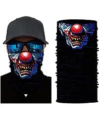 ShopINess Pañuelo bandana multiuso Calavera Clown