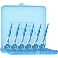 TePe Easy Pick Interdental Brush, Blue, Size: M/L, Pack of 1 x 36