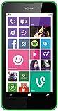 Nokia Lumia 635 Smartphone Mikro SIM (11,4 cm (4,5 Zoll) Touchscreen, 5 Megapixel Kamera, Win 8.1) grün