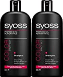 Syoss By Schwarzkopf Pro-Cellium Keratin COLOR Protect Shampoo 500ml*2 (Pack Of 2)