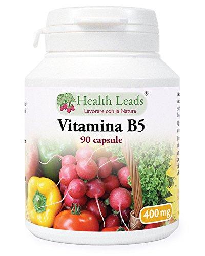 Vitamina B5 400 mg x 90 Capsule